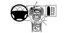 Brodit Proclip 853804 Support de Montage pour Hyundai Santa Fe An Construction