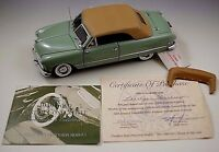 FRANKLIN MINT 1949 FORD CUSTOM CONVERTIBLE MODEL 1:24 SCALE DIE CAST MIB LE