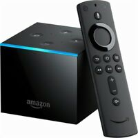 Amazon Fire TV Cube Smart Assistant Alexa 4K Ultra HD Streaming Media Player NEW