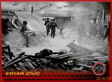DALEKS INVASION EARTH 2150 - Card #36 - Robomen Attack! - Unstoppable Cards 2014