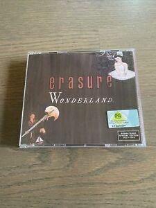 ERASURE – Wonderland [Remastered DELUXE Edition](2 CDS / DVD, 2011, Mute Recs.)