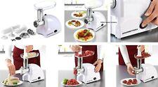 3IN1 Elektro Fleischwolf Küchenmaschine Fleisch Mixer 800W f. Hacken Kebbe Wurst