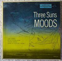 Three Suns Moods 45 EP NM Sleepy Penthouse Serenade My Isle of Golden Dreams