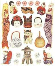 ASIAN ICONS Scrapbook Stickers