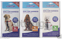 Hi-Craft 🐶 Dog Car Harness 🚗 Travel Safety Seat Belt Dogs SMALL MEDIUM LARGE