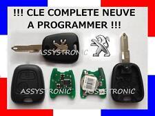 CLÉ PEUGEOT 206 NEUVE à Programmer! Comme Chez Le Concessionnaire! Livrée en 48H