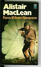 FORCE 10 FROM NAVARONE by MacLean, Rare British Fontana spy war pulp vintage pb