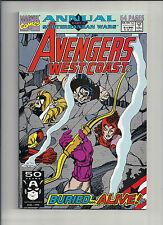West Coast Avengers Annual #6 NM- (BOARDED & BAGGED) FREEPORT