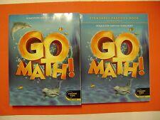 Go Math! Student Edition & Practice Book Grade K (Common Core Edition)