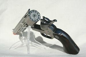 TOY GUN Cap Gun Pistol Made in Spain 12 Shot Ring Cap BRAND NEW 10007