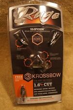 Rage Slipcam Krossbow Broadheads -- 100 grain