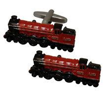 Royal Scott Steam Train Cufflinks Railway Enthusiast Gift  in Tin   22411