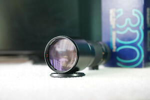 [Near Mint] Carl Zeiss Tele-Tessar T 300mm F/4 MMG Contax Lens Germany with box