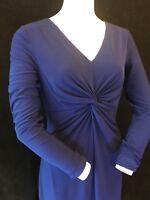 BNWT DONNA KARAN New York Knee Length Long Sleeve Dress Size UK12
