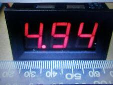 Barco Coche Motor Bicicleta Digital Voltímetro calibre DC4.5 = 30 V