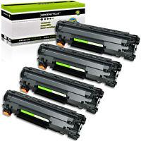 4PK CE278A 78A Laser Toner Cartridge Compatible For HP LaserJet M1536dnf P1606dn