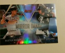 2016 BOWMANS BEST MIRROR IMAGE BUSTER POSEY ZACK COLLINS MI-8