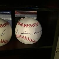 JOHNNY DAMON SIGNED OML BASEBALL RED SOX YANKEES JSA COA