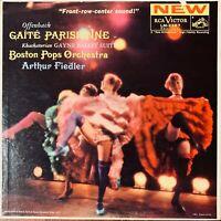 ARTHUR FIEDLER BOSTON POPS OFFENBACH GAITE PARISIENNE VINYL LP RCA RED SEAL EXC