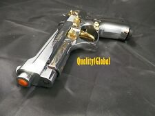 HEAVY DELUXE 3D CHROME GOLD EKOL FIRAT REPLICA BERETTA 92  MOVIE PROP Pistol Gun