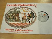 LP Weihnachten Baierische Weihnachtszeit Wastl Fanderl Vinyl Ariola 76 731 IU