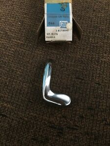 NOS GM 3716649. Chrome Vent Window Handle. LH. 55-59 2nd Series Chevy Truck.