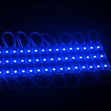 LED BLUE MODULE STRIP WATERPROOF BOAT DECK GARDEN MARINE CARAVAN LIGHT