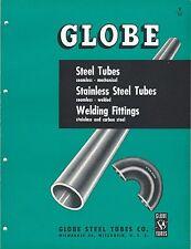 MRO Brochure - Globe - Stainless Steel Tube Welding Fitting - c1952 (MR121)