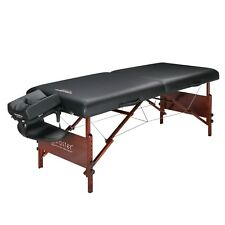 "30"" Del Ray Master Massage Pro Portable Massage Table Folding Wood Frame Bed"