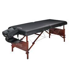 "30"" Del Ray Master Massage Pro Portable Massage Table Folding Wood Frame Bed"