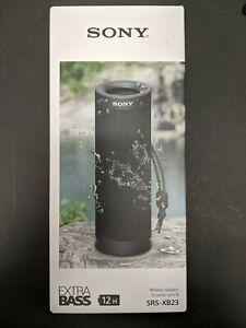 Brand New Sony Extra Bass Wireless Speaker SRS-XB23 - Black
