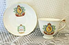 Queen Elizabeth II Coronation 1953 Tea Cup & Saucer Bone China  Radford's (2561)