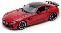 Nex Welly  1/24-27 Scale - Mercedes Benz SLS AMG GT R Red Diecast Model Car