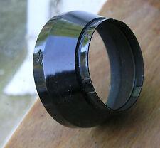 34mm push fit slip on stepped  Lens hood ,paxette etc