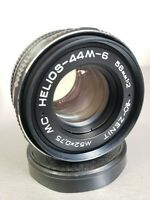 Helios 44-6 Lens USSR  2/58 mm M42 for Canon Sony Nikon Zenit