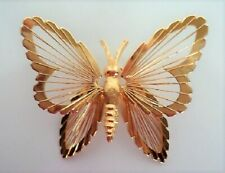 VTG Monet Large Golden Butterfly! Excellent Condition!