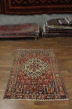 Rare Geometric Design S Antique Bakhtiari Persian Rug Oriental Area Carpet 5X7
