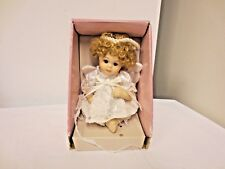 "Older Collectible Memories 5"" Sitting Porcelain Angel Doll-Original Box"