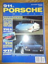 911 & Porsche World Jul/Aug 1995 Strosek 911 Turbo Cabriolet, 914/6