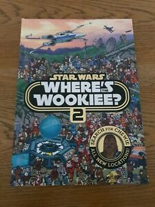 Star Wars Where's the Wookie 2 Book AU SELLER