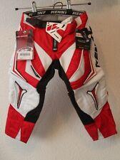 Original Pantalon BMX KENNY Track  rouge blanc taille 18 US 3 ans FR   neuf