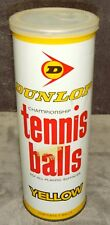 Vintage•1978•Dunlop†¢Championship•Tennis Balls•Unopened•Tin• Can•Australian Type