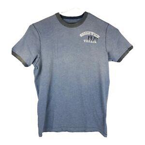 Ruehl No 925 Faded Blue Distressed Greenwich 1979 Village T Shirt Rare Size XL