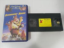ZAFARRANCHO EN EL RANCHO - VHS CINTA TAPE LOS CLASICOS DE WALT DISNEY
