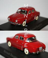 Miniature 1/43 Die Cast NOREV Renault Dauphine Rouge