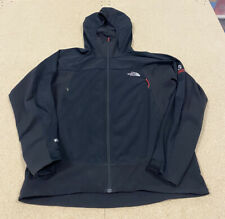 The North Face Windstopper Jacket Summit Series Medium Full Zip Soft Shell Black