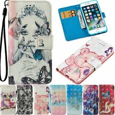 Magnetic Flip Cover Stand Card Wallet Leather Case For iPhone X 8 7 Plus 6 Plus