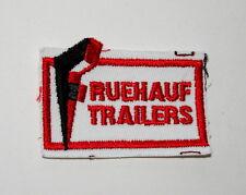 Vintage Fruehauf Truck Trailers Trucking Cloth Patch New NOS 1960s 18 Wheeler