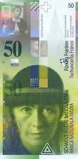 Switzerland / Suisse / Schweiz P-70 50 francs 1994 UNC