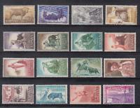 Spain (1960) MNH New Stamp Hinges edifil 1254/69 Bulls